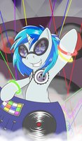 DJ Pon-3 by thepiplup