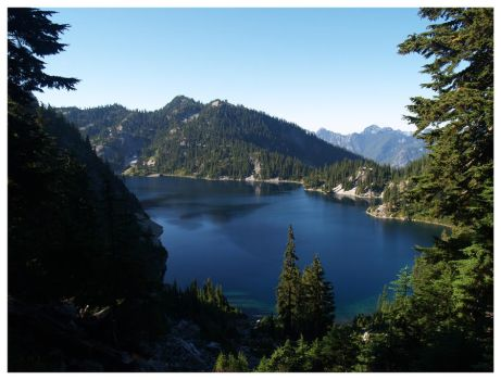Snow Lake I by the-astronaut
