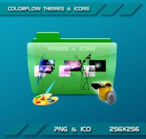 Colorflow Themes and icons Folder by Dohc-WP