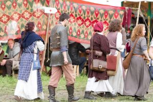 On the Medieval Market by LuDa-Stock