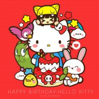 Happy B-day Hello Kitty by kepalakardus