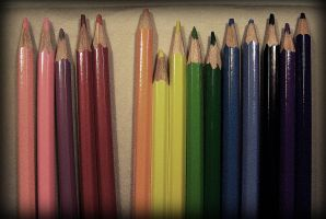 crayons by liimeliight