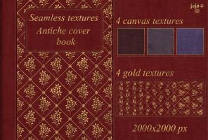 Antiche cover book Seamless textures by jojo-ojoj