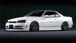 Nissan Skyline GT Coupe '01 by HAYW1R3
