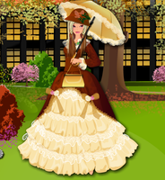 Autumn Princess Dress up Game by willbeyou