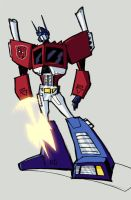 G1 animated Prime by dcjosh