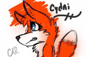 Cydni the Fox II by BabyKichy