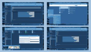 Bluish Metro Theme for WIndows 8/8.1 by AndyCris