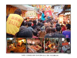 Taipei 2004 Chinese New Year by hh