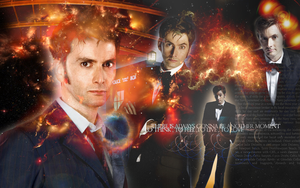 David Tennant Desktop by karolcialolcia
