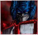 Optimus Prime, colored by polidread