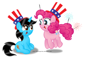 Commission:  Happy 4th of July! by AleximusPrime