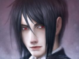 Sebastian Michaelis by satiiiva