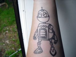 Clank the tattoo by angeleyezxtc