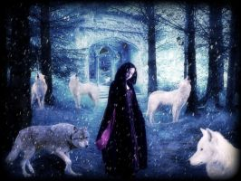 The Winter Howl by CLE-ArT