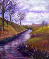 Derbyshire Brook by AnnMarieBone
