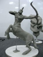 centaur sculpture3 by Cleytonoliveira