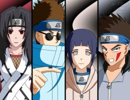 Naruto: Team 8 (revised) by JayQC80