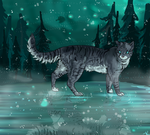 jayfeather in starclan by kleslie