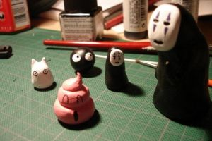 Fimo figures by Syntetyc