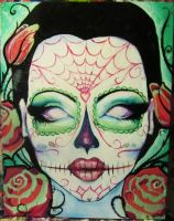 Day of the Dead Girl by GracyG89