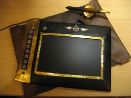 Steampunk Grafic-Tablet by PGwainbenn