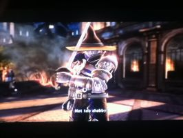Soul Calibur V, My 2 Custom Character Neon wins! by LightTheDragon19
