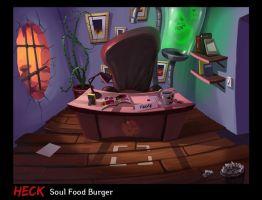 Heck: Frank's Office by Tysho