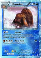 Piloswine card - Christmas Mini Set