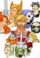MASTERS OF THE UNIVERSE by thew40