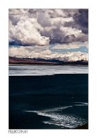 Tibetan Salt Lake by FelixTo