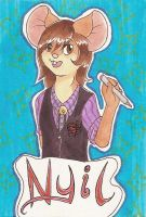 IFC conbadge by mouseymachinations