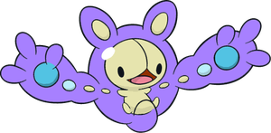 Shiny Reuniclus : DW Art by Muums