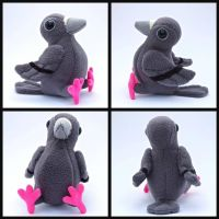 London Pigeon Plush by EllaRobinson