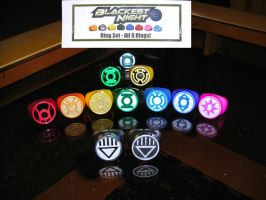 Green Lantern Rings Modded by ajb3art