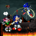 Mettle against Metal: SEGA Sonic CD Contest Winner by Blue-Sonikku