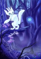 Ori and the blind forest by XFireflySkyX