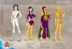 Wonder Woman Cartoon Show: Dr Cyber by tremary