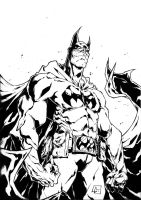Batman inks 2 by BDixonarts