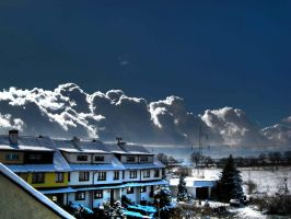 snow clouds hdr by rekokros