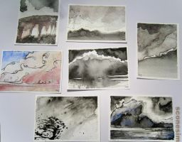 Cloud Practice ATC collection by unSpookyLaughter