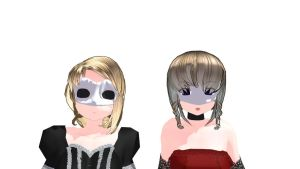 MMD Phantom mask Download by 9844
