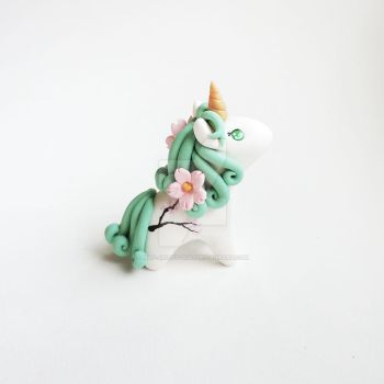 Sakura Cherry Blossom Unicorn by mAd-ArIsToCrAt