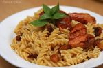 Pasta with beef sausage by patchow