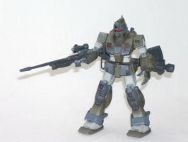 GM Sniper Custom RGM-79SC by clem-master-janitor