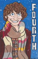 The Fourth Doctor Who (Sketch Lottery Submission) by emmadreamstar