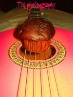 Guitar muffin!! Wonderful world. by ASFmaggot