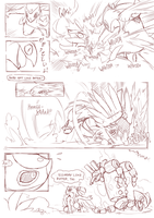Foreign Shadows  page 17 draft by ChillySunDance
