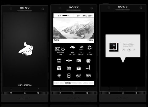 Xperia Blacked! by supranodip