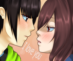 almost kiss by xEndlessPain